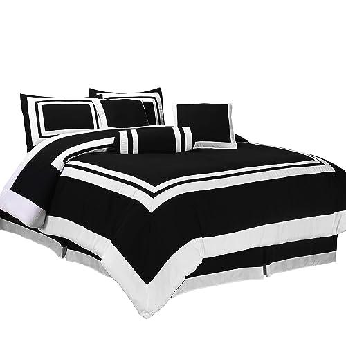 Black And White Bedding Amazoncom