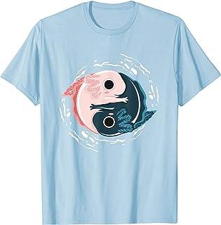 Yin Yang Axolotls T-Shirt Zen Axolotl Meditation Yoga Shirt T-Shirt
