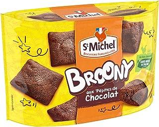 ST MICHEL Gâteaux Broony Chocolat Sachets Individuels 8, 220 g