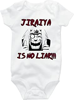 Jiraiya is No Liar Naruto Parody Cute Onesie Funny Baby Bodysuit