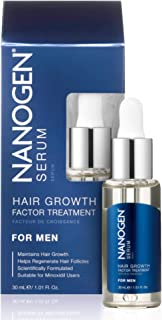 Hair Growth Factor Treatment Serum for Men - 30ml By Nanogen