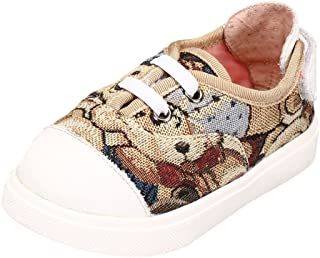 2cc03bee631d Tortor 1bacha Kids Girl Boy Stylish Aztec Print Canvas Sneaker Shoes