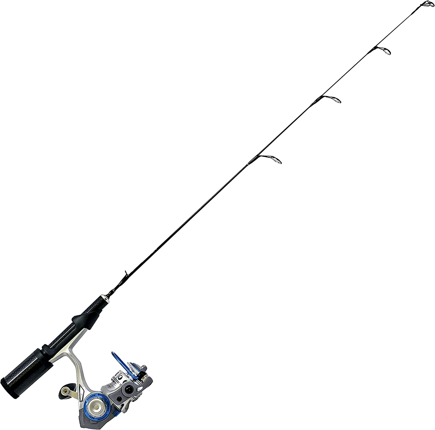 Quantum Glacier XTi Spinning Industry No. 1 Reel and Rod Combo Outlet sale feature Ice Sol Fishing