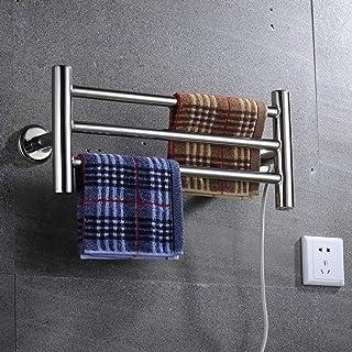 Ayanxt Toalleros de Acero Inoxidable Calentadores de Toallas, Secadora Toalla calentada en Caliente Toallero eléctrico clásico calentado con calefacción para radiadores de baño