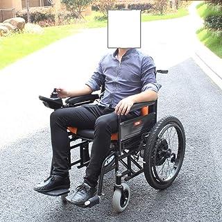 Accesorios para el hogar Ancianos discapacitados Abrir / plegar en 1 segundo ahora.la silla eléctrica más compacta de Amp más ligera del mundo Silla eléctrica Silla de ruedas eléctrica (negra y am
