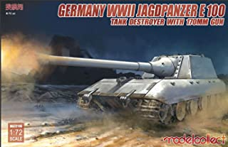 Modelcollect MOC72116 1:72 German WW2 Jagdpanzer E-100 Tank Destroyer with 170mm Gun [MODEL BUILDING KIT]