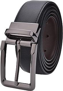 Labnoft Men's Reversible PU Leather Belt, Free Size