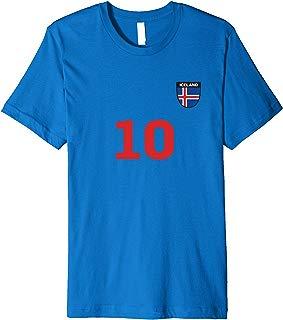 Iceland Soccer Jersey World Football 2018 Fan