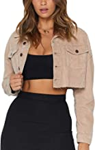Oversized Denim Jacket for Women Long Sleeve Classic Loose Jean Trucker Jacket
