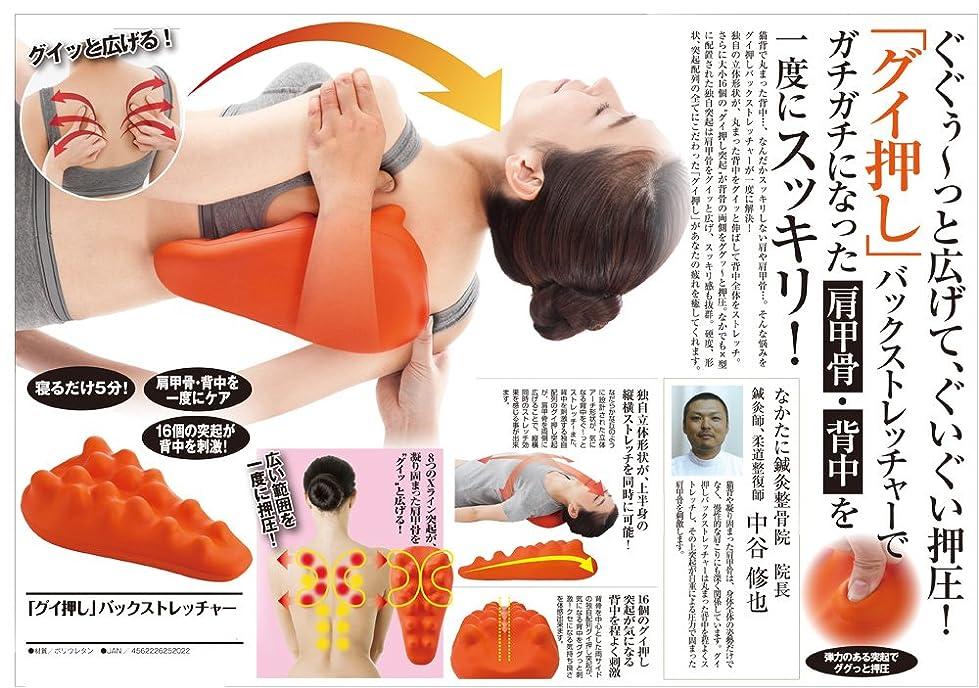 お風呂を持っているアストロラーベ男らしい肩こり 解消グッズ 肩甲骨?背中 を一度にスッキリ 人気アイテム グイ押しバックストレッチャー