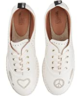LOVE Moschino - Faux Leather Espadrille w/ Gold Details