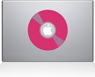 "The Decal Guru 2081-MAC-15X-BG Vinyl Record Decal Vinyl Sticker, 15"" Macbook Pro (2016 & newer), Pink"
