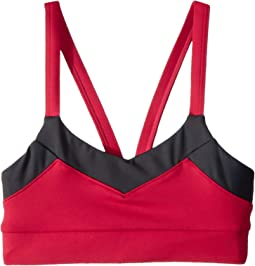 Two-Tone V-Strap Crop Top (Little Kids/Big Kids)