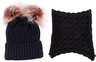Pumpumly Gorro de invierno para bebé, gorro de invierno, suave, elástico, gorro de ganchillo, gorro de invierno de dibujos...