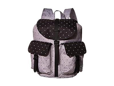 Herschel Supply Co. Dawson Small (Polka Dot Crosshatch Grey/Black) Backpack Bags