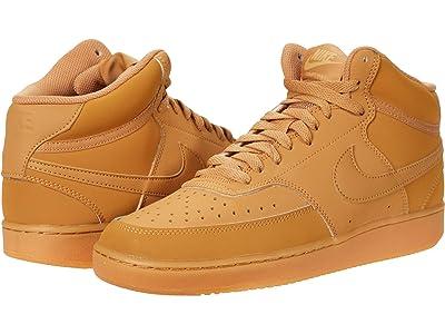 Nike Court Vision Mid (Flax/Flax/Gum Light Brown/Twine) Men