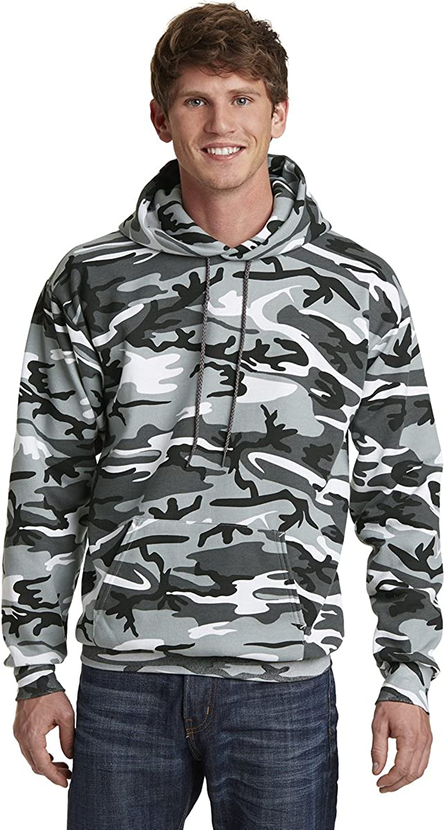 Classic Camo Print wholesale Core 35% OFF Fleece Pullover Sweatshirt Hooded