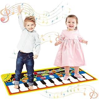 Vimpro Musical Piano Mat, Toddler Piano Keyboard Floor Playm