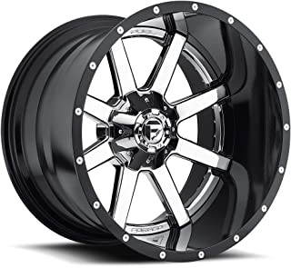 Fuel Maverick 22x12 Chrome Wheel / Rim 8x180 with a -44mm Offset and a 125.20 Hub Bore. Partnumber D26022201847