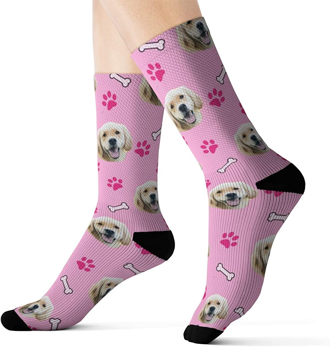 Message Us A Photo Of Your Dog With Your Order Kids Dog Socks Socks With Your Dogs Face On