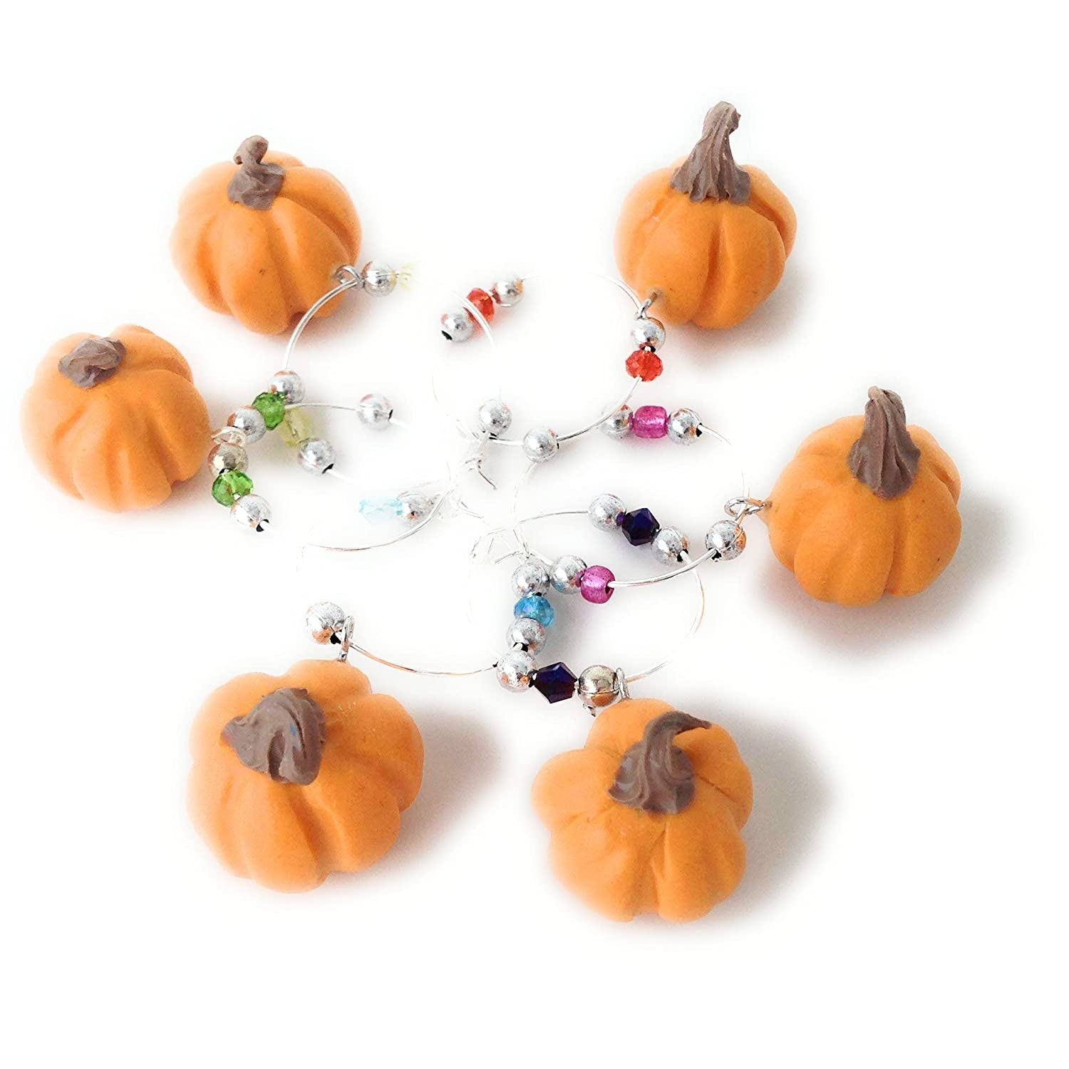 Pumpkin Wine Cheap Manufacturer direct delivery Glass Charms