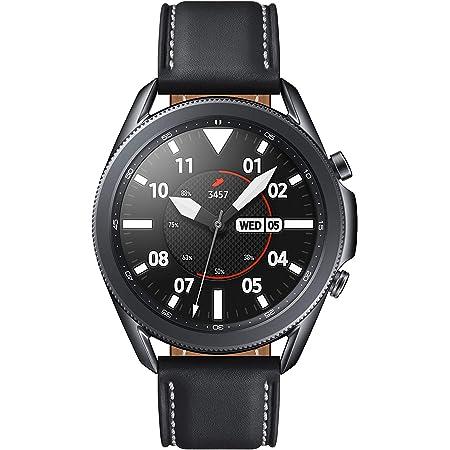 Galaxy Watch3 45mm Stainless/ブラック [Galaxy純正 国内正規品]SM-R840NZKAXJP