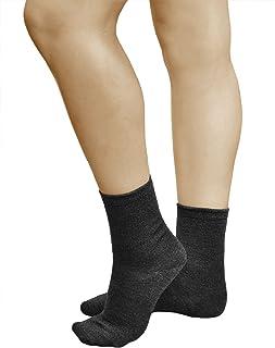 Calcetines Lana Merino 80% Cálidos Mujer (3 PARES) Buena Calidad