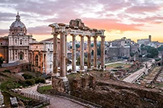 Sunrise Over Roman Forum Rome Italy Photo Art Print Cool Huge Large Giant Poster Art 54x36