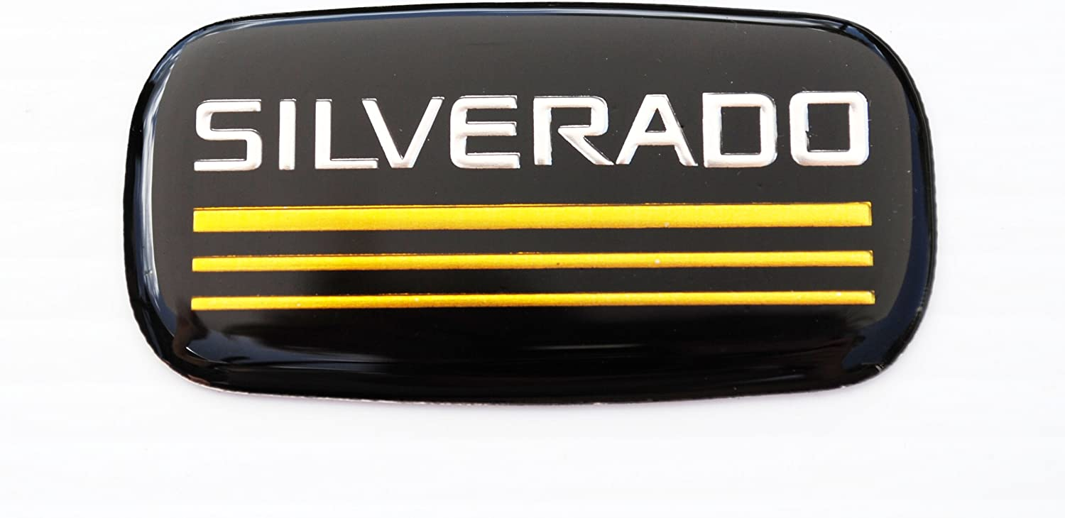 High quality Aftermarket Compatible Replacement Attention brand for Silverado Chevrole Emblem
