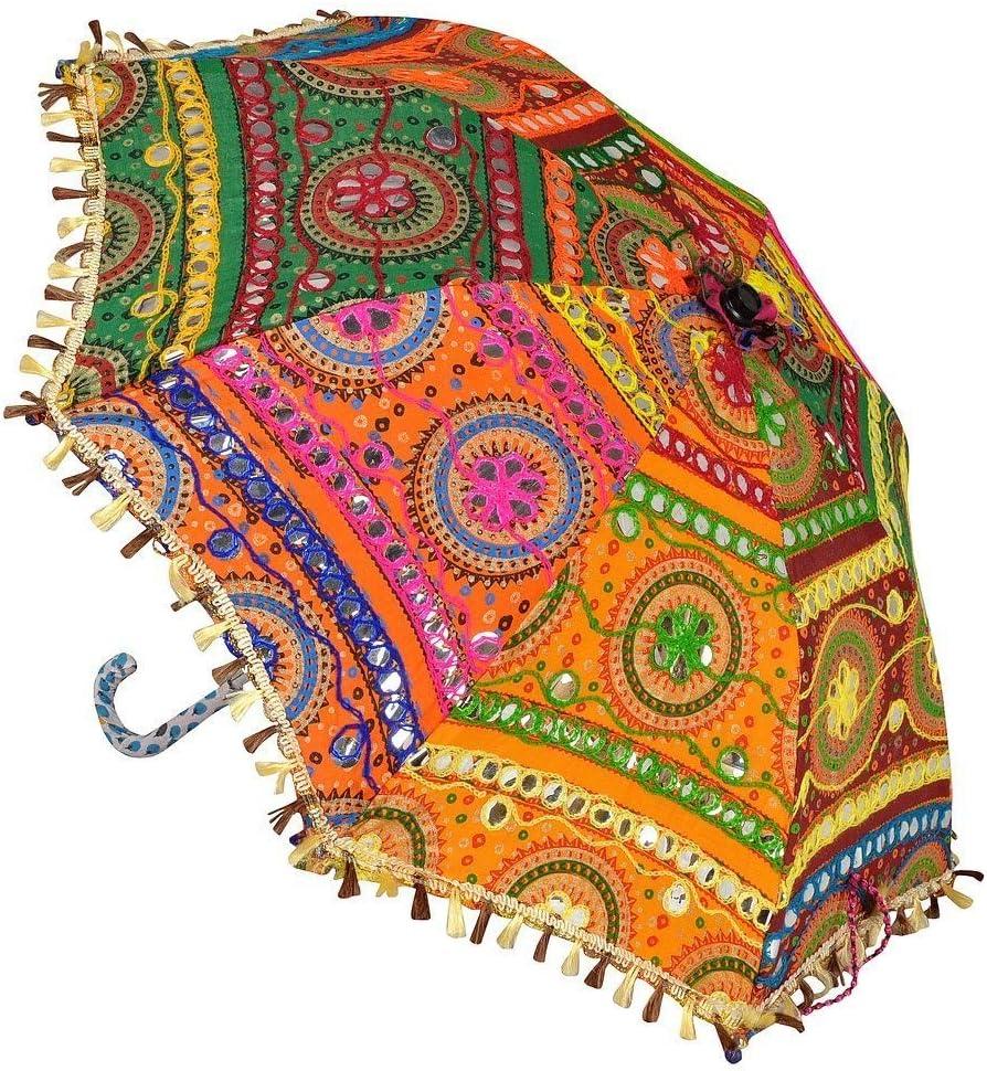 N A Rajasthani Home Decor Alternative dealer Traditional Beautifu Super-cheap Colorful Umbrella