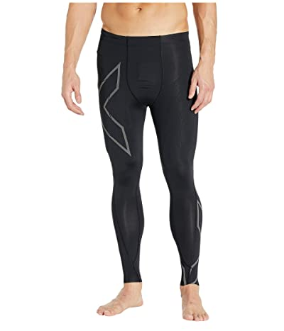 2XU MCS Run Compression Tights (Black/Black Reflective) Men