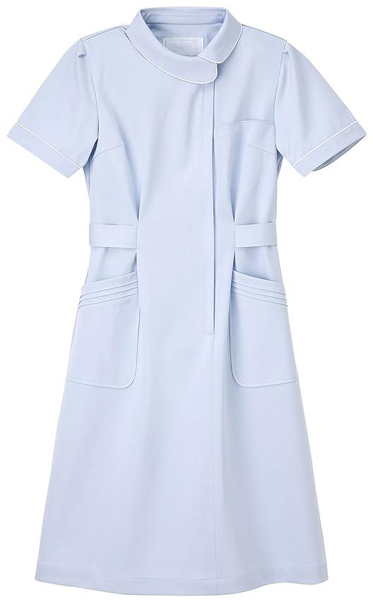 曇った脚本家ドナウ川ナガイレーベン NAGAILEBEN 看護衣半袖 CA-1707(L) ブルー