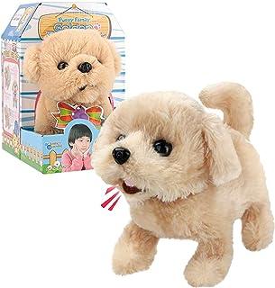 Liberty Imports Plush Golden Retriever Toy Puppy Electronic