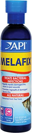 API Remedio para infecciones bacterianas MELAFIX, para Peces de Agua Dulce