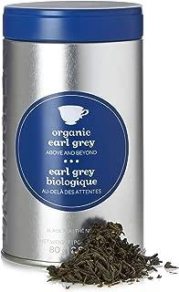 DAVIDsTEA Organic Earl Grey Loose Leaf Tea Perfect Tin, Premium Black Tea with Bergamot and Cornflower Petals, 80 grams / 2.8 ounces