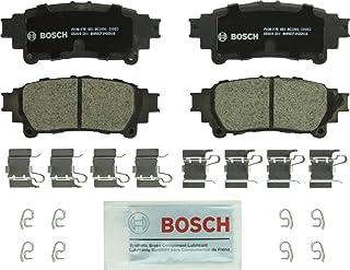 Bosch BC1391 QuietCast Premium Ceramic Disc Brake Pads: Lexus GS200t, GS350, GS450h, GS/IS Turbo, IS200t, IS250, IS300, IS...