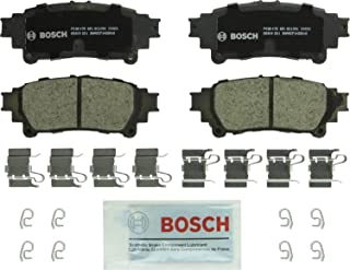 Bosch BC1391 QuietCast Premium Ceramic Disc Brake Pads: Lexus GS200t, GS350, GS450h, GS/IS Turbo, IS200t, IS250, IS300, IS350 Turbo, RC350, RX350, RX450h; Toyota Highlander, Mirai, Prius, Sienna, Rear