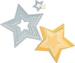 Sizzix Framelits Die Set 5/PK - Stars