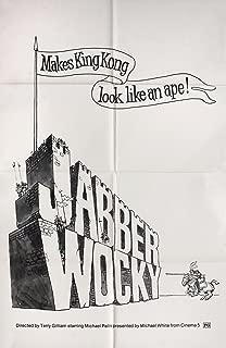 Jabberwocky 1977 U.S. One Sheet Poster
