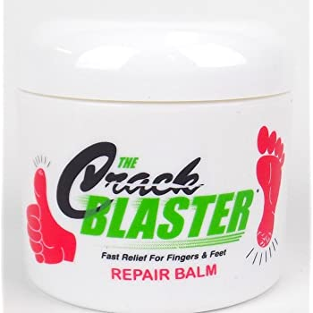 Crack Blaster Repair Balm, Multi-Purpose Dry Skin Balm, Intense Repair Treatment For Cracked Heels, Dry Cracked Hands, Finger and Elbow Treatment, Fragrance-Free Dry Cracked Skin Care