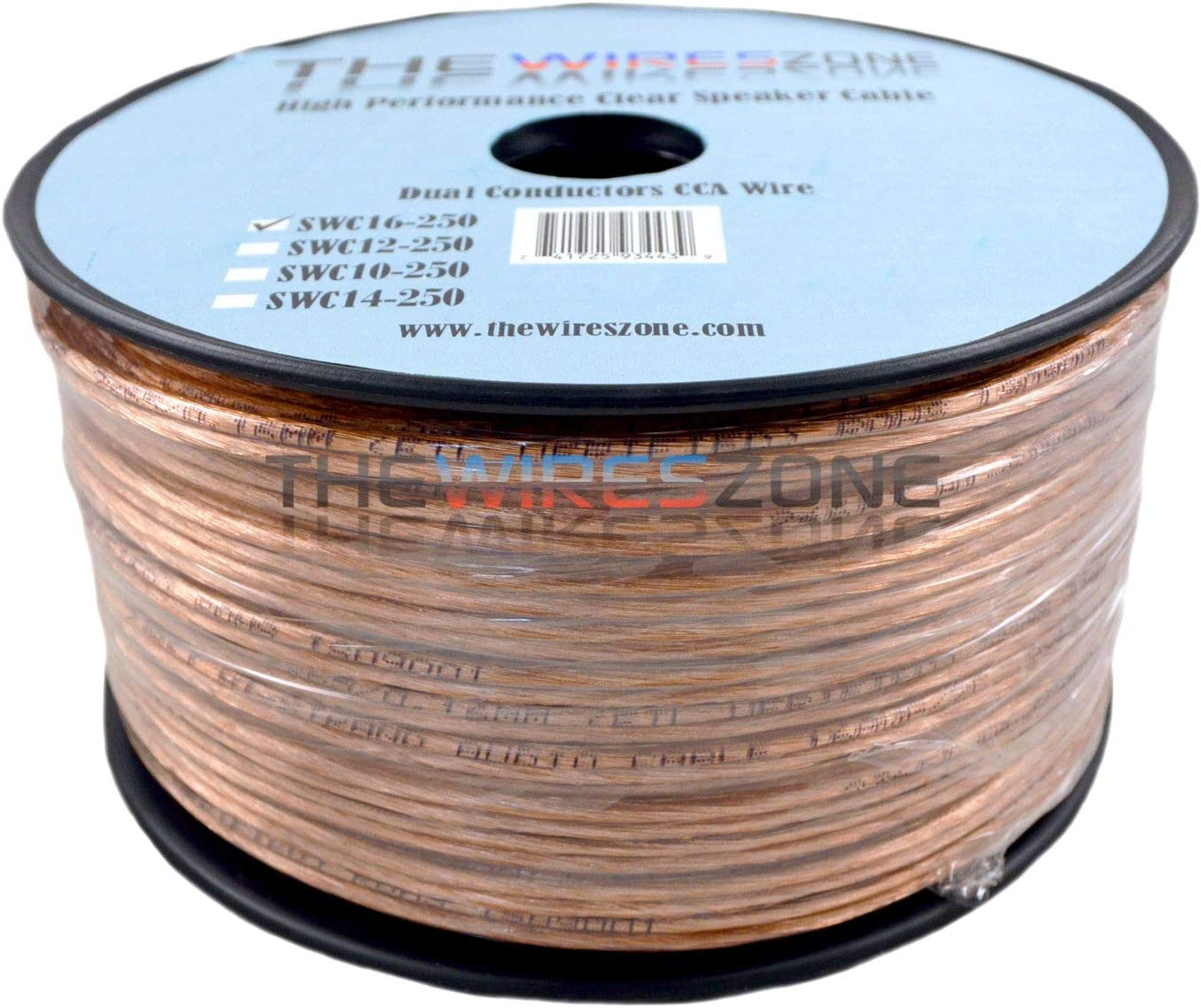 Car Home Audio Speaker Wire Transparent Cable Under blast sales Elegant 16AWG Clear 16 2 G