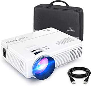 VANKYO Leisure 3 Mini Projector, Full HD 1080P and 170'' Display Supported, 2400 Lux Portable Movie Projector with 40,000 ...