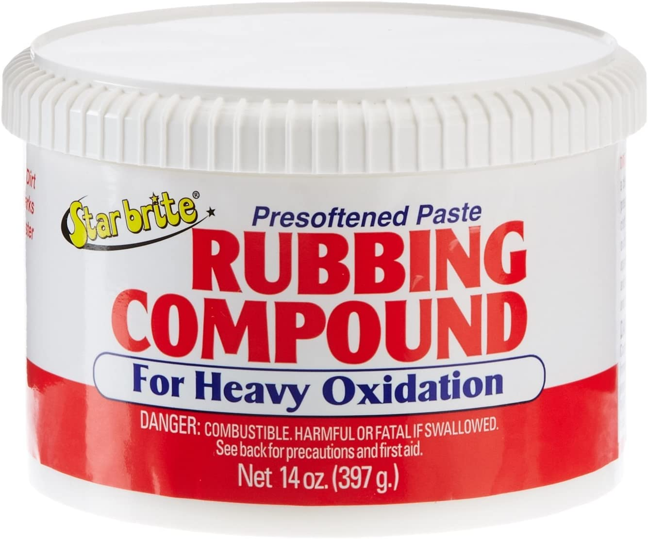 Star brite Paste Compound Ranking integrated 1st Max 72% OFF place Rubbing