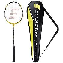Amazon Brand – Symactive Strung Badminton Racquet