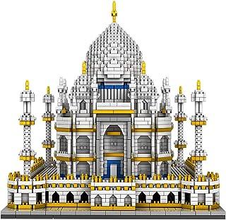 YOUPIN 3950PCS MINI Building Blocks City Architecture Land marks Taj Mahal Palace Bricks 3D Model Toys For kids Christmas ...