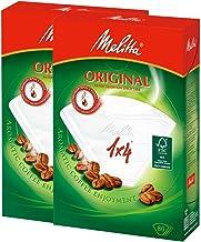メリタ Melitta コーヒー フィルター ペーパー 4~8杯用 1×4 用 80枚入り ×2個 セット オリジナルシリーズ ホワイト