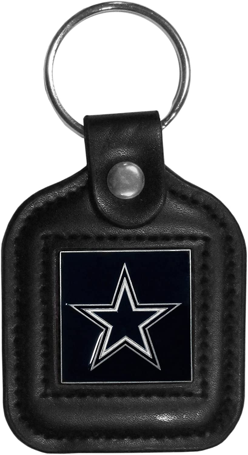 Siskiyou Sports NFL Seasonal Wrap Introduction unisex-adult Key Leather Chain Square Max 74% OFF