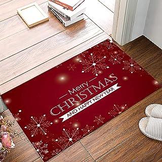 Details about  /Floor Mat Christmas Long Doormat Carpet Indoor Non-Slip Pads Rugs Festive Decor