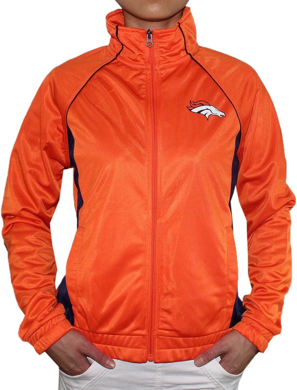 Womens DEN BRONCOS  Athletic ZipUp Jacket