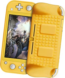 TPU Case Protector for Nintendo Switch Lite, Anti-Scratches, Anti-Fingerprintr Soft Protective TPU Cover Case with 2 Game ...